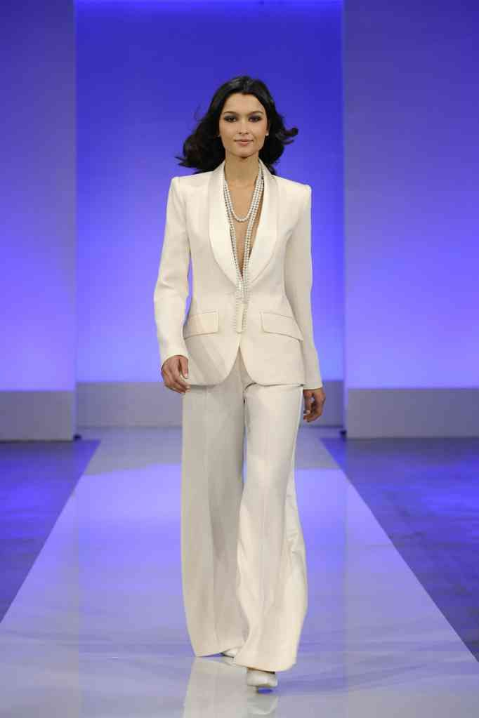 Wearing the pants absolute joy occasions for Wedding dress pant suits