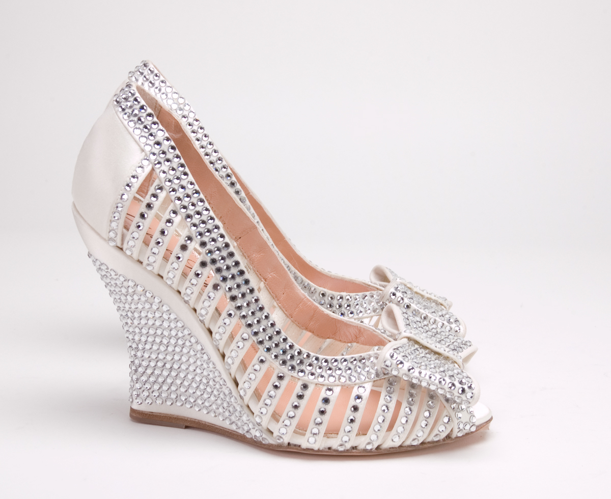 shoesday tuesday bridal shoes by aruna seth style to the aisle