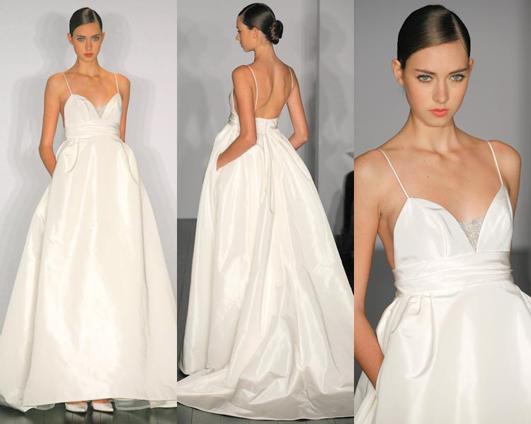 wedding wednesday wedding gowns with pockets style to the aisle