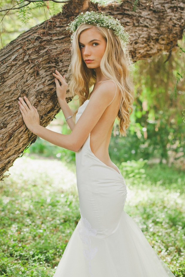 Backless wedding dresses katie may bridal collection for Dress for a wedding in may