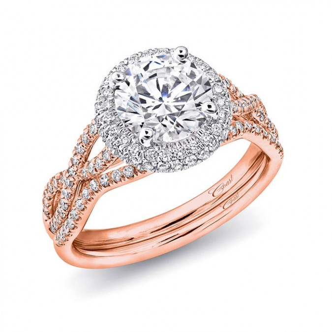 10 stunning rose gold engagement rings style to the aisle magazine
