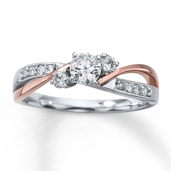 10 Stunning Rose Gold Engagement Rings