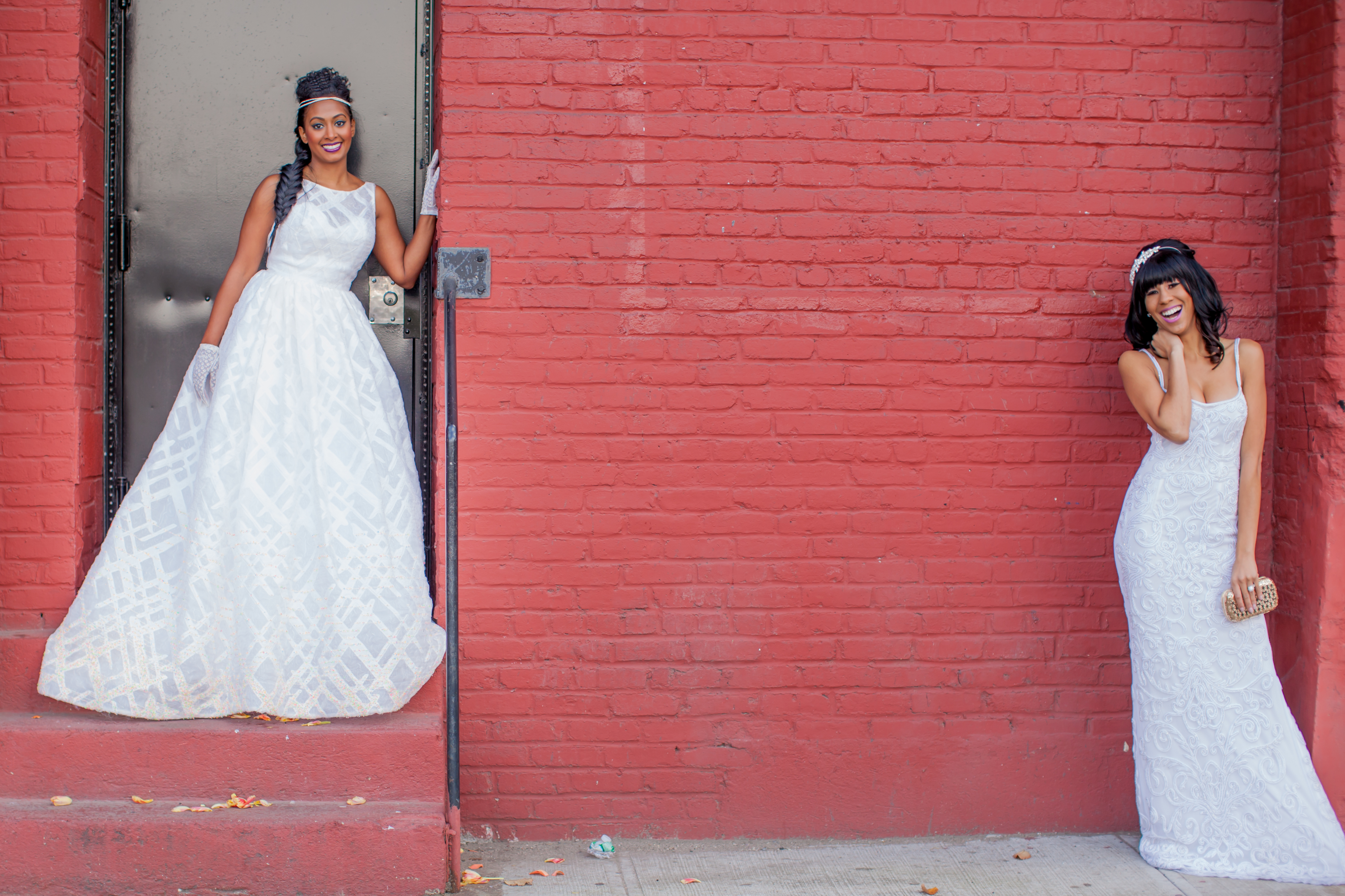 Introducing Brownstone Bridal Style To The Aisle