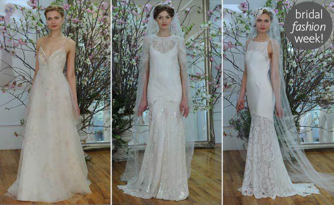Elizabeth Fillmore Spring 2015 Wedding Dresses