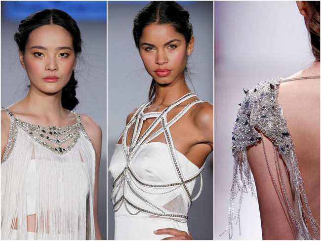 Now Playing: Hayley Paige Spring 2015 Runway Show