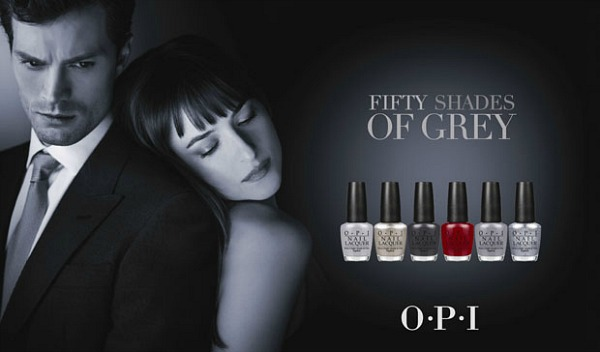 OPI Fifty Shades of Grey Nail Lacquer Collection