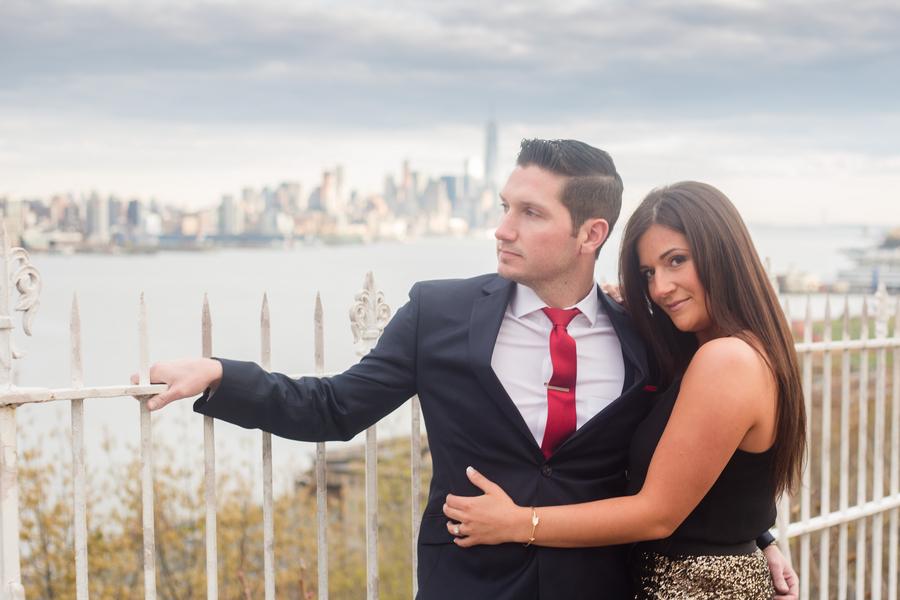 Wedding Wednesday | NYC Skyline Engagement Session