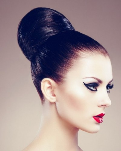 Bridal Beauty Inspiration | Sleek & Chic Bun Wedding Hairstyle