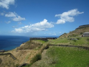 Brimstone Hill in St. Kitts.