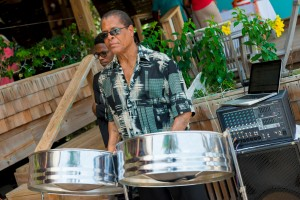 Local Steel Pan player.