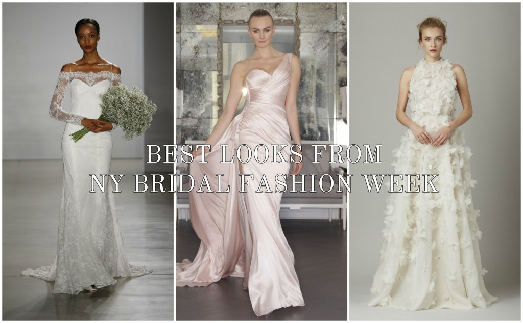 Best Looks From NY Bridal Fashion Week