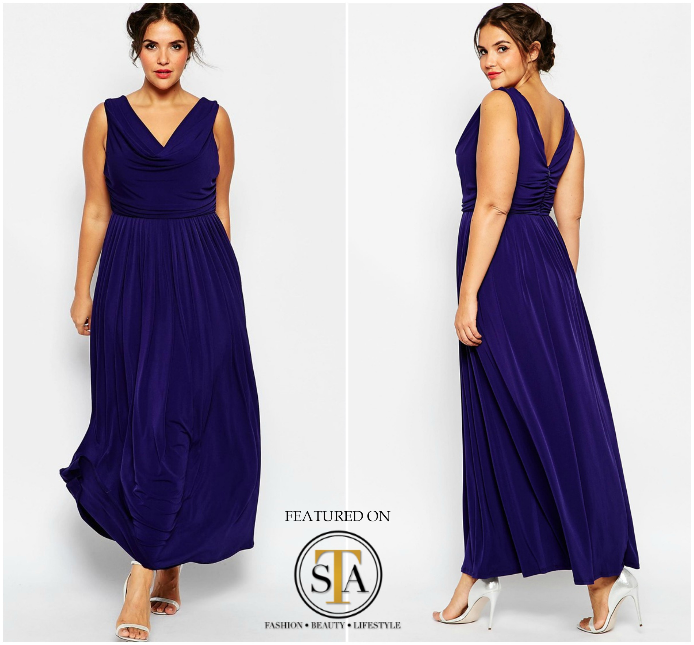 Perfect style for your curvy bridesmaid.