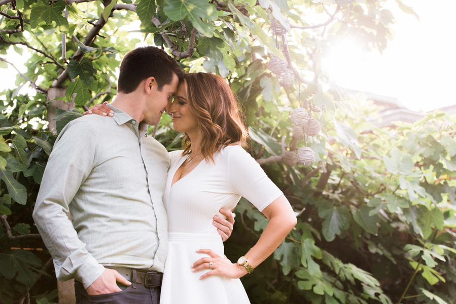 Jessica + Luke's Home Engagement Shoot