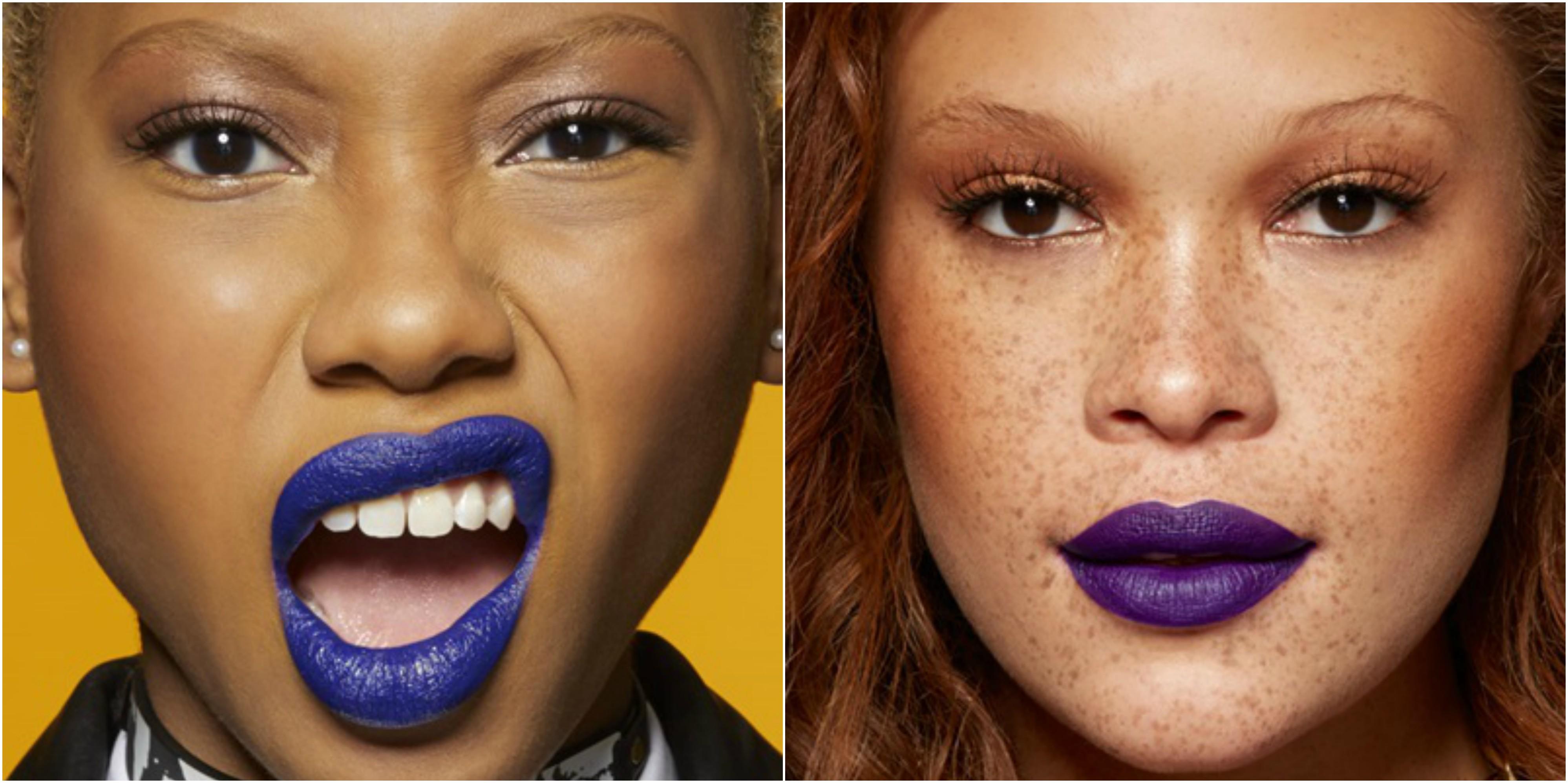 Maybelline: Sapphire Siren + Violet Vixen