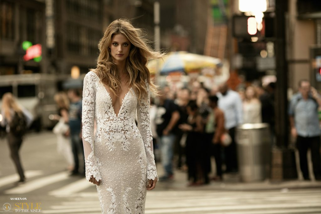 Bridal Fashion Editorial: Berta FW 17 Collection