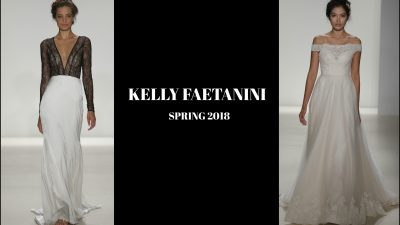 Best of Bridal Fashion Week | Kelly Faetanini Spring 2018
