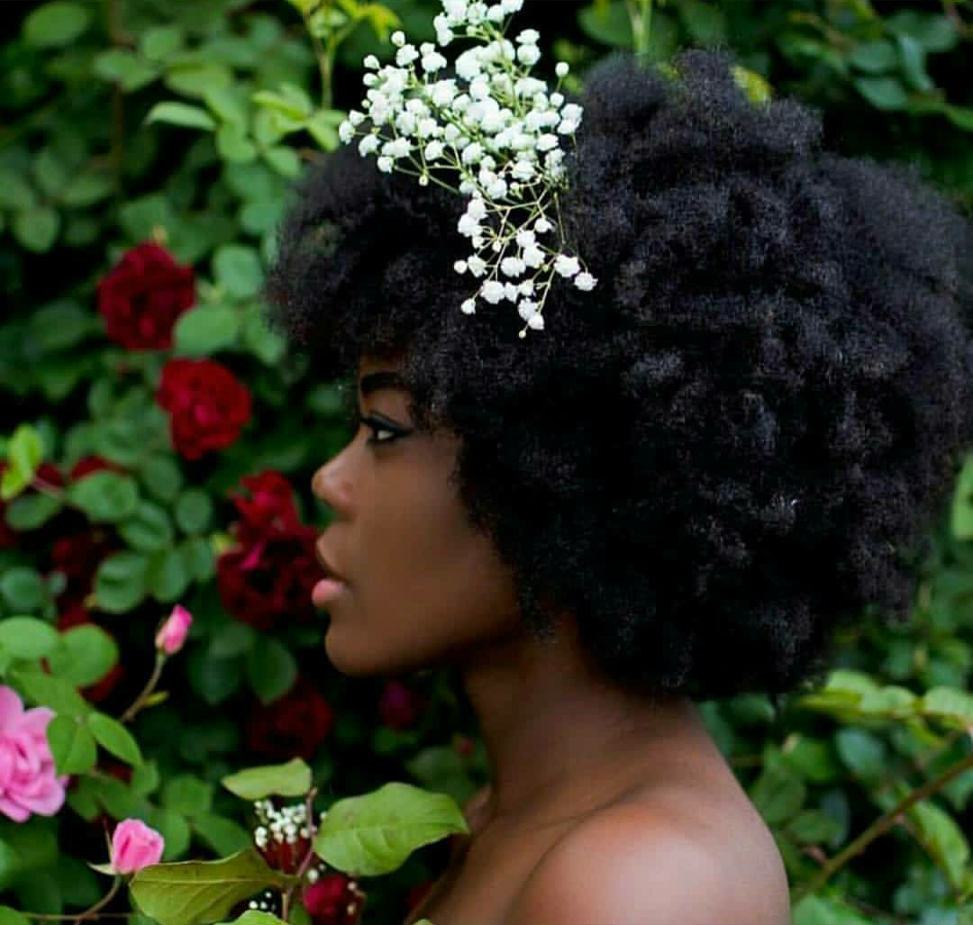 Natural Hair Bride Style To The Aisle Magazine The