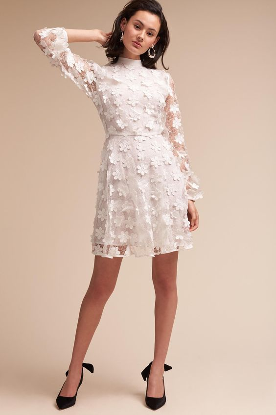 13 Little White Dresses for Brides to Slay Before or After the ...