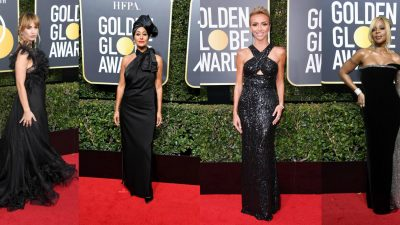 Black Dominates the Red Carpet at the 2018 Golden Globes
