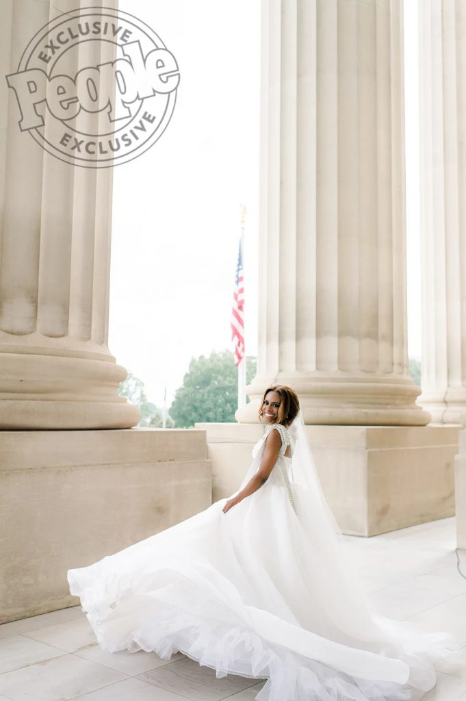 Real Housewives Of Potomac\' Star Candiace Dillard Weds Chris Bassett ...